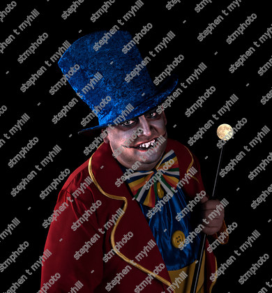 Fine Art - Studio Portrait - Model - Clown - stmphoto 188016