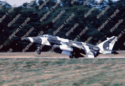 Sepecat Jaguar GR1 - 41 squadron - XZ363 - Royal Air Force stmphoto 180224