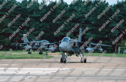 Sepecat Jaguar GR3s - 6 and 41 Squadron - Royal Air Force - stmphoto 180271