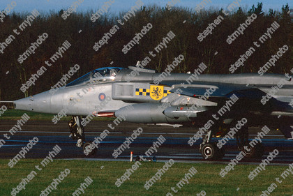Sepecat Jaguar GR3A 54 squadron - Royal Air Force - stmphoto 180296