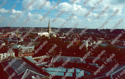 View of Norwich 1990, Norfolk, England, UK - stmphoto 180721