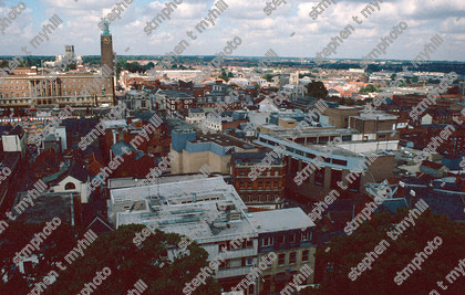 View of Norwich 1990, Norfolk, England, UK - stmphoto 180720