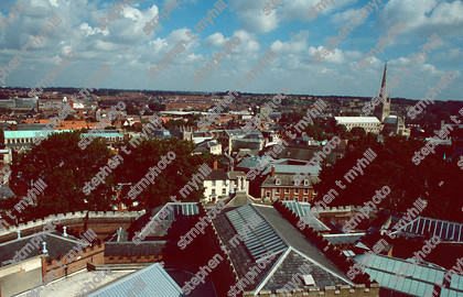 View of Norwich 1990, Norfolk, England, UK - stmphoto 180722